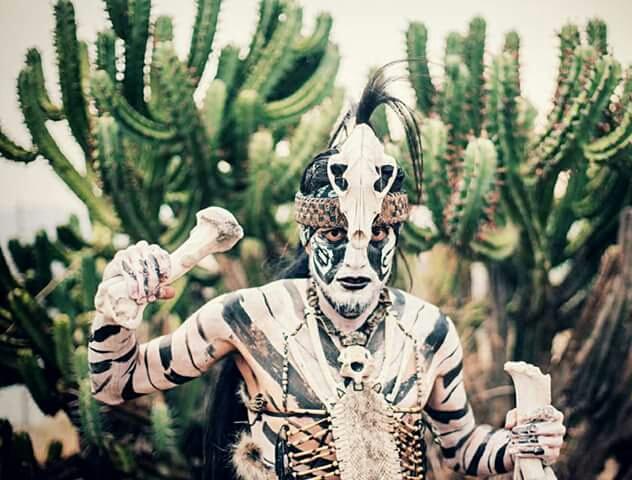 Integrantes de la Danza: Guamares de Comonfort